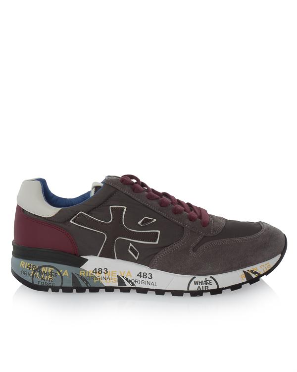кроссовки Mick из кожи и текстиля с принтом  артикул MICK2321 марки Premiata sport купить за 16700 руб.