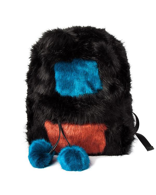 рюкзак из искусственного меха артикул MILES марки Essentiel купить за 8500 руб.