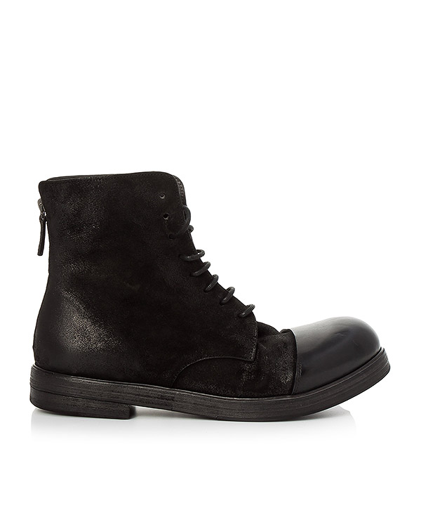ботинки из кожи с эффектом состаривания артикул MM1331 марки Marsell купить за 51600 руб.