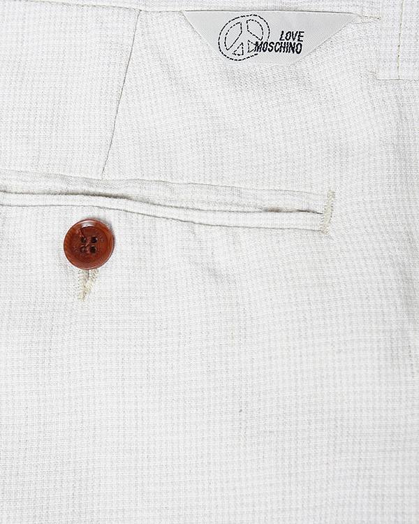 мужская брюки MOSCHINO LOVE, сезон: лето 2013. Купить за 6100 руб. | Фото 4