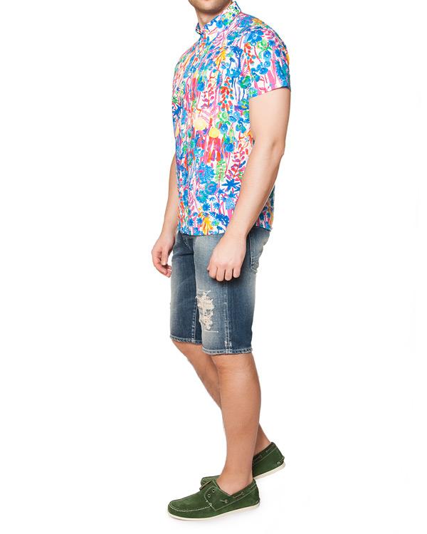мужская рубашка CAPRI, сезон: лето 2015. Купить за 6200 руб. | Фото 3