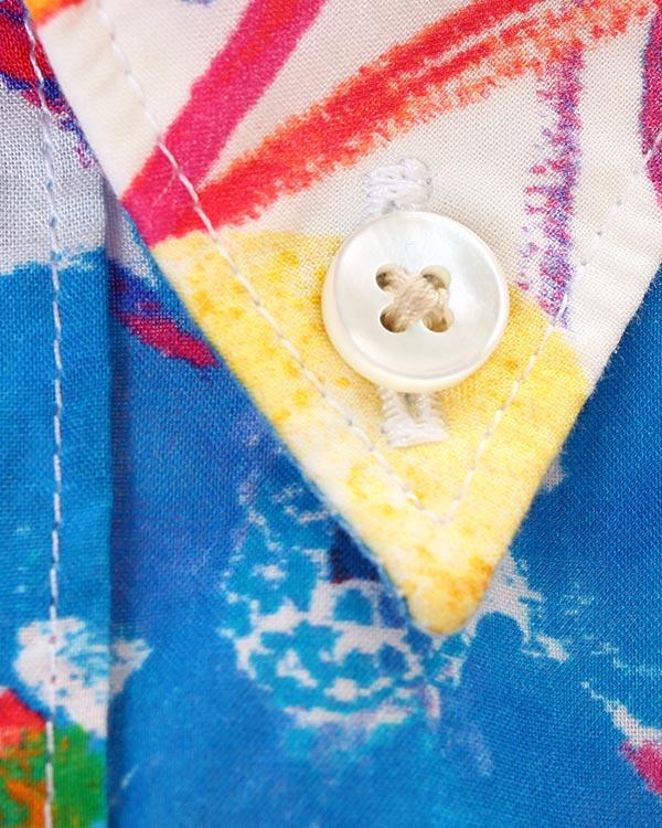 мужская рубашка CAPRI, сезон: лето 2015. Купить за 6200 руб. | Фото 4