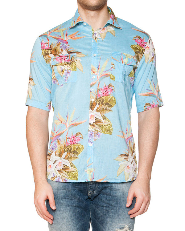 мужская рубашка CAPRI, сезон: лето 2015. Купить за 7200 руб. | Фото 1
