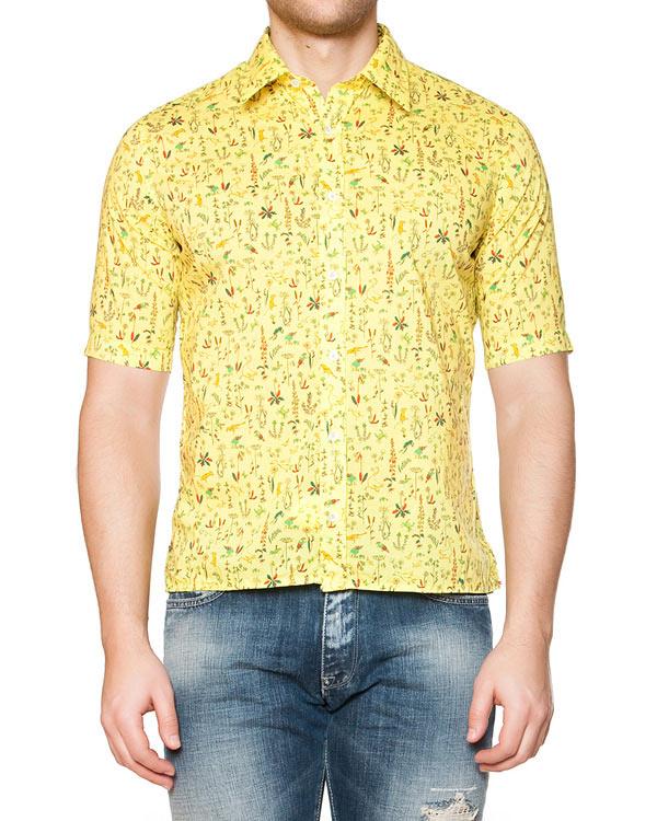 мужская рубашка CAPRI, сезон: лето 2015. Купить за 6300 руб. | Фото 1