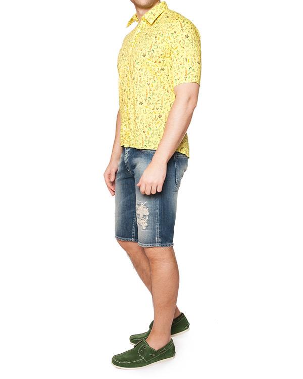 мужская рубашка CAPRI, сезон: лето 2015. Купить за 6300 руб. | Фото 3