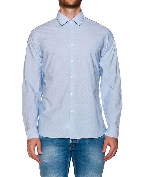 рубашка классического кроя из хлопка в мелкий горох артикул MT6A7CL-HN539 марки CAPRI купить за 6600 руб.
