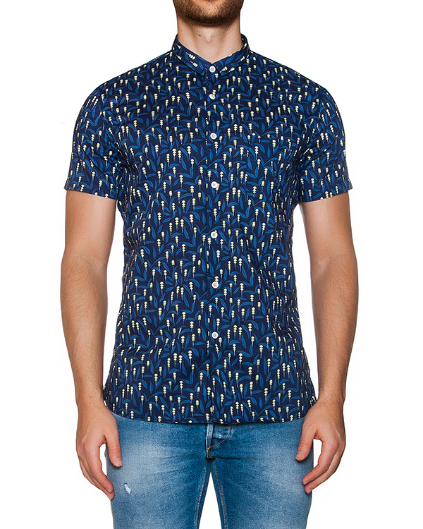 рубашка из мягкого хлопка с принтом артикул MT6BCCL-4A040 марки CAPRI купить за 4100 руб.