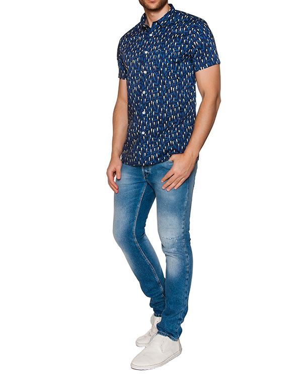 мужская рубашка CAPRI, сезон: лето 2016. Купить за 5900 руб. | Фото 3
