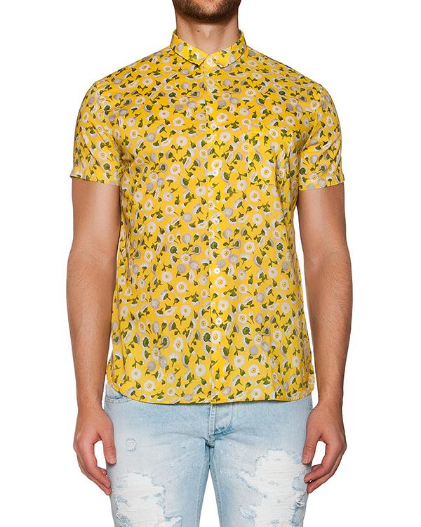 рубашка из мягкого хлопка с цветочным принтом артикул MT6BCCL-4A044 марки CAPRI купить за 4800 руб.