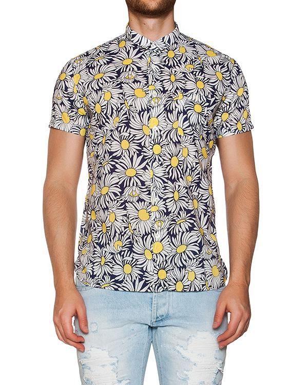 рубашка из мягкого хлопка с цветочным принтом артикул MT6BCCL-4A046 марки CAPRI купить за 4800 руб.