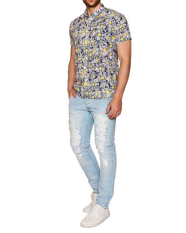 мужская рубашка CAPRI, сезон: лето 2016. Купить за 13700 руб. | Фото 3