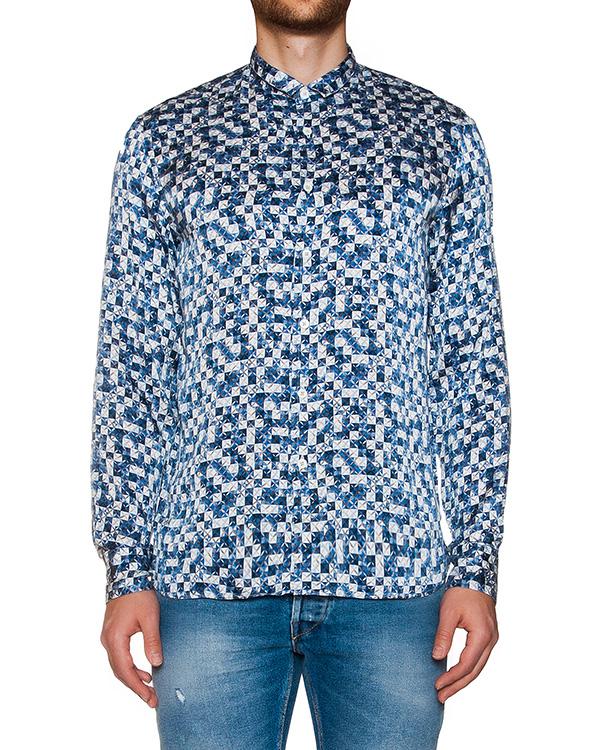 рубашка из мягкого легкого хлопка с цветочным принтом артикул MT6BFCK-4A099 марки CAPRI купить за 10400 руб.