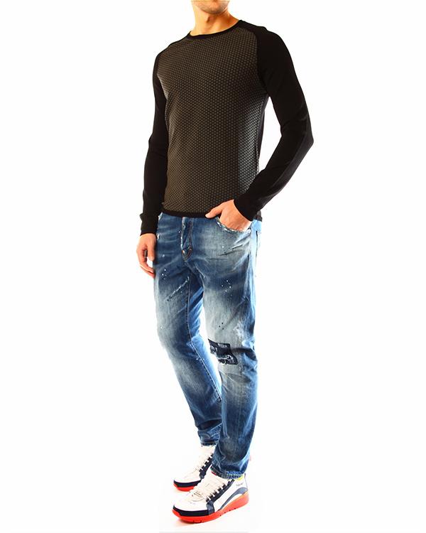 мужская джемпер EMPORIO ARMANI, сезон: лето 2014. Купить за 7900 руб. | Фото 3