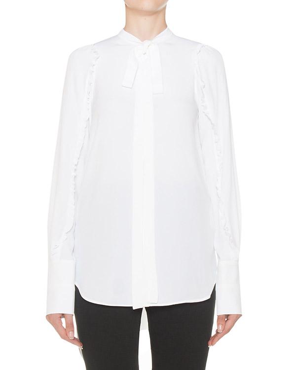 блуза из жатого материала с добавлением шелка артикул N2MG021 марки № 21 купить за 35200 руб.
