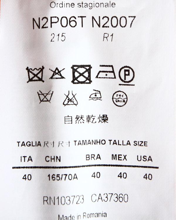 женская брюки EMPORIO ARMANI, сезон: лето 2014. Купить за 6500 руб. | Фото 5