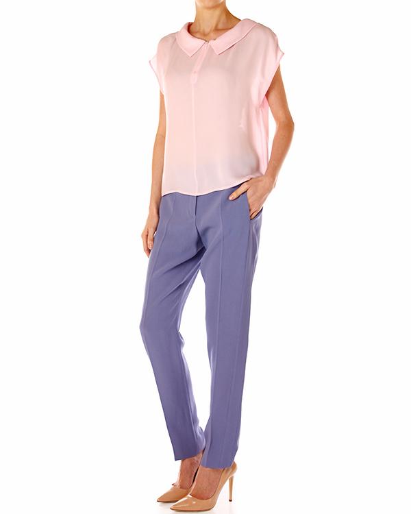 женская брюки EMPORIO ARMANI, сезон: лето 2014. Купить за 7000 руб. | Фото $i