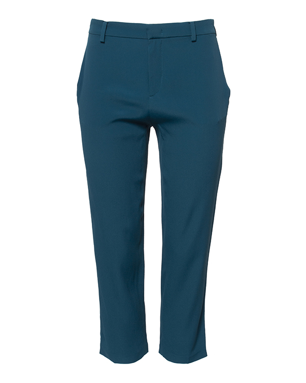 брюки укороченного кроя из легкой ткани  артикул N2S0B131-5816 марки № 21 купить за 12100 руб.