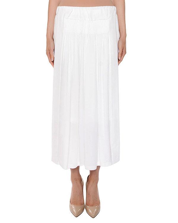 юбка из легкой ткани с разрезами по бокам артикул N2S0C111 марки № 21 купить за 30700 руб.