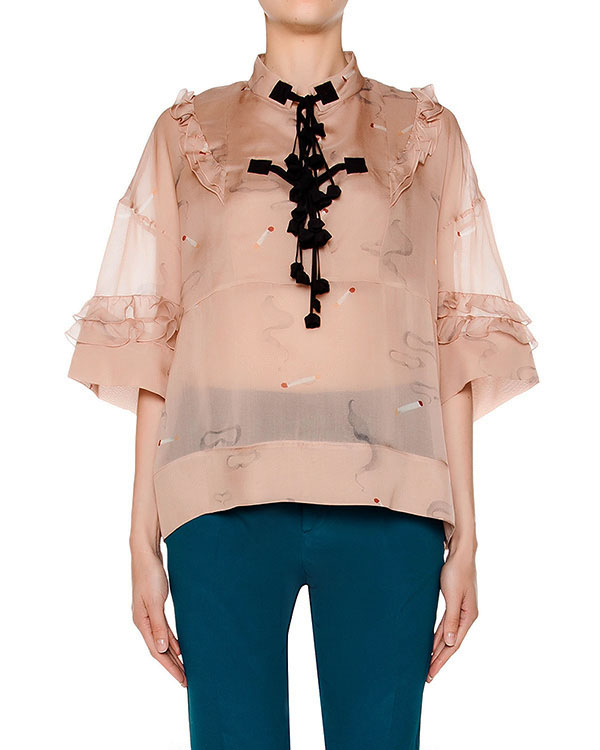 женская блуза № 21, сезон: лето 2016. Купить за 31800 руб. | Фото 1