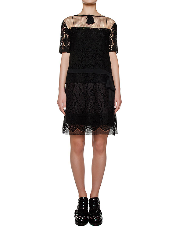 платье из кружева артикул N2SH031 марки № 21 купить за 62300 руб.
