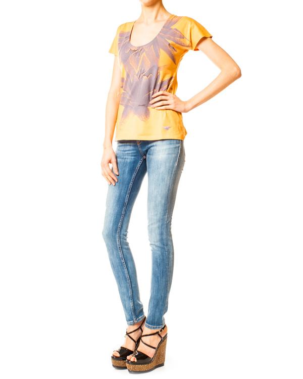женская футболка EMPORIO ARMANI, сезон: лето 2014. Купить за 4400 руб. | Фото 3