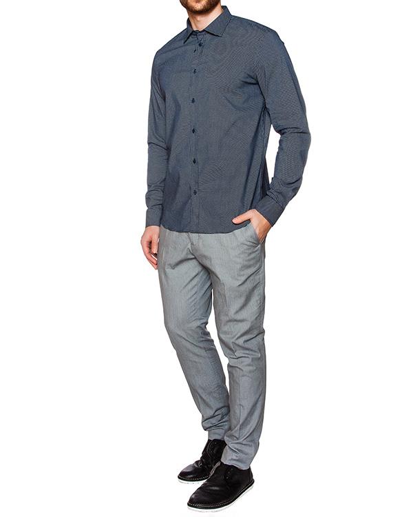мужская рубашка Obvious Basic, сезон: лето 2016. Купить за 6300 руб. | Фото 3