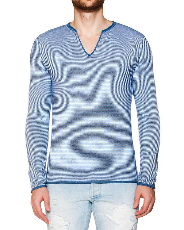 пуловер из мягкого трикотажа в полоску артикул OBS16154M126 марки Obvious Basic купить за 13800 руб.