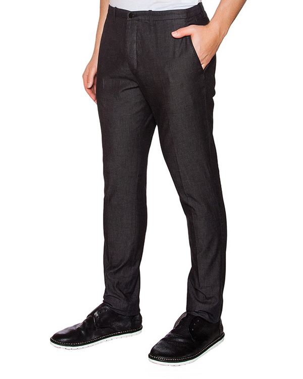 брюки классического прямого кроя артикул OBS16457P101 марки Obvious Basic купить за 8300 руб.