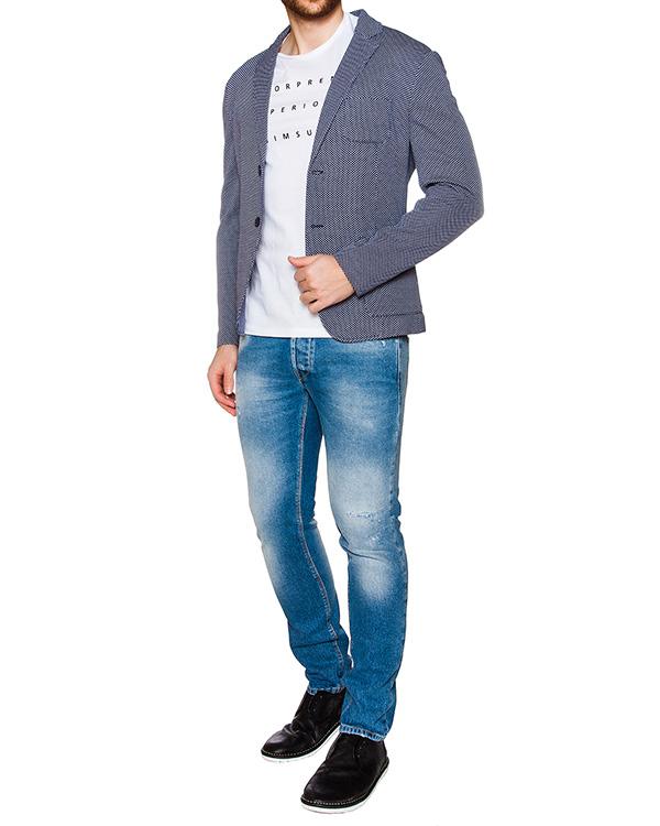 мужская пиджак Obvious Basic, сезон: лето 2016. Купить за 14600 руб. | Фото 3
