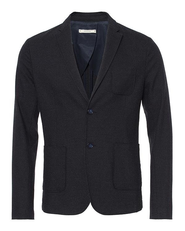 пиджак приталенного кроя из плотного трикотажа артикул OBW16460F150 марки Obvious Basic купить за 23900 руб.