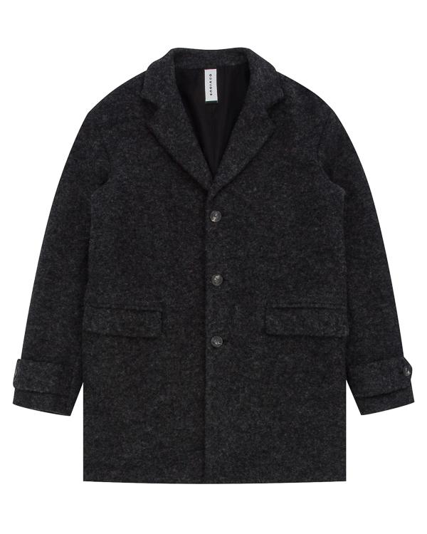 пальто объемного силуэта из шерсти артикул OBW17463T102 марки Obvious Basic купить за 27400 руб.