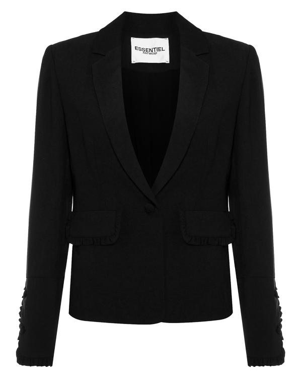 пиджак прямого силуэта из хлопка артикул ODELL марки Essentiel купить за 17100 руб.