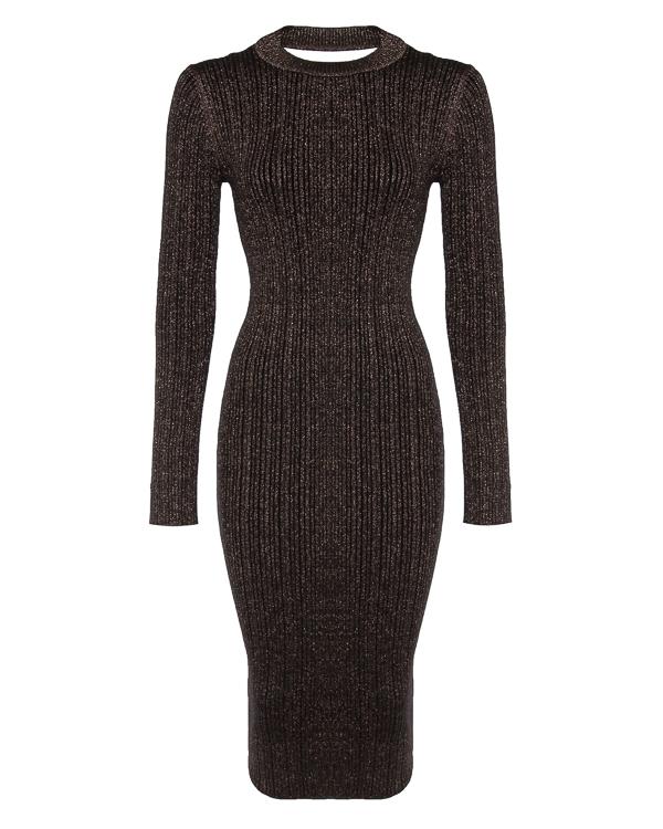 платье миди облегающего силуэта артикул OFFERTE марки Essentiel купить за 14800 руб.