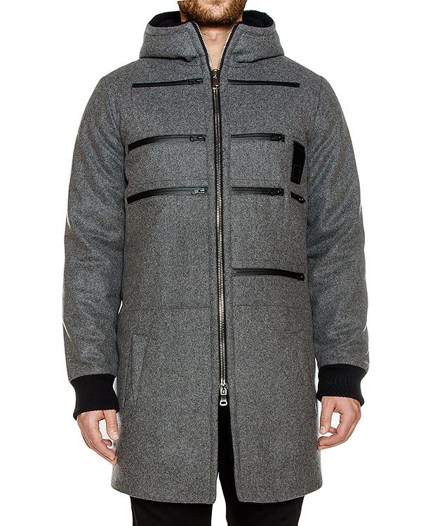 пальто из плотной шерсти с карманами артикул OWRPRK03 марки Letasca купить за 28300 руб.