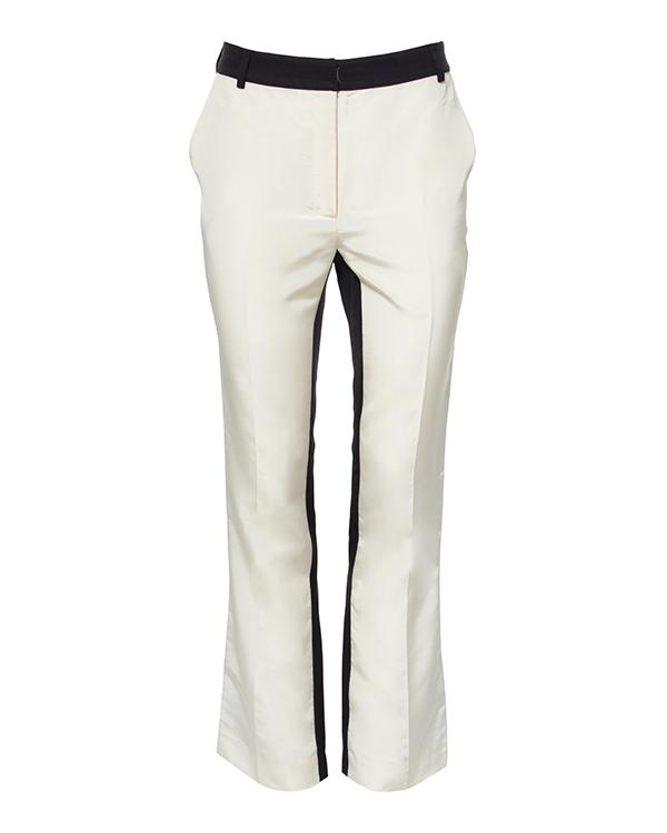 брюки укороченные, расклешенного кроя из шелка артикул P011335 марки Graviteight купить за 31300 руб.