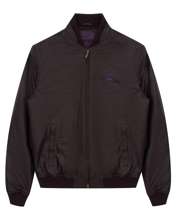 куртка бомбер из мягкой кожи артикул P0162 марки Harmont & Blaine купить за 46600 руб.