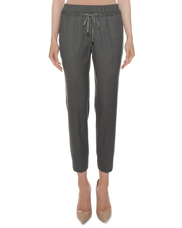 брюки из шерсти и вискозы артикул P04501 марки Peserico купить за 25100 руб.