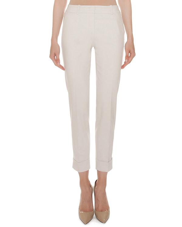 брюки укороченного силуэта из хлопка  артикул P04616L1 марки Peserico купить за 20700 руб.