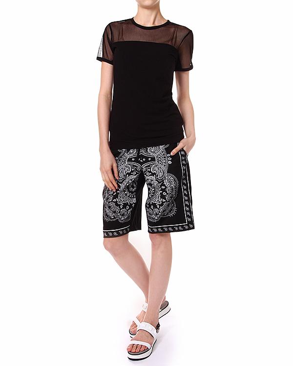 женская шорты DKNY, сезон: лето 2014. Купить за 7300 руб. | Фото $i