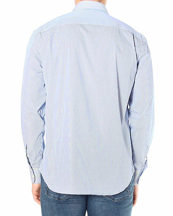 мужская рубашка EMPORIO ARMANI, сезон: зима 2014/15. Купить за 5700 руб. | Фото 2