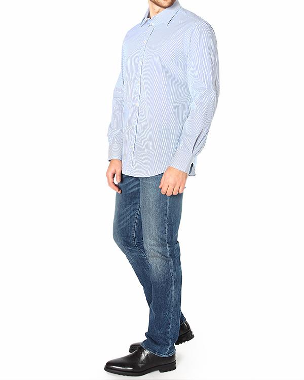 мужская рубашка EMPORIO ARMANI, сезон: зима 2014/15. Купить за 5700 руб. | Фото 3