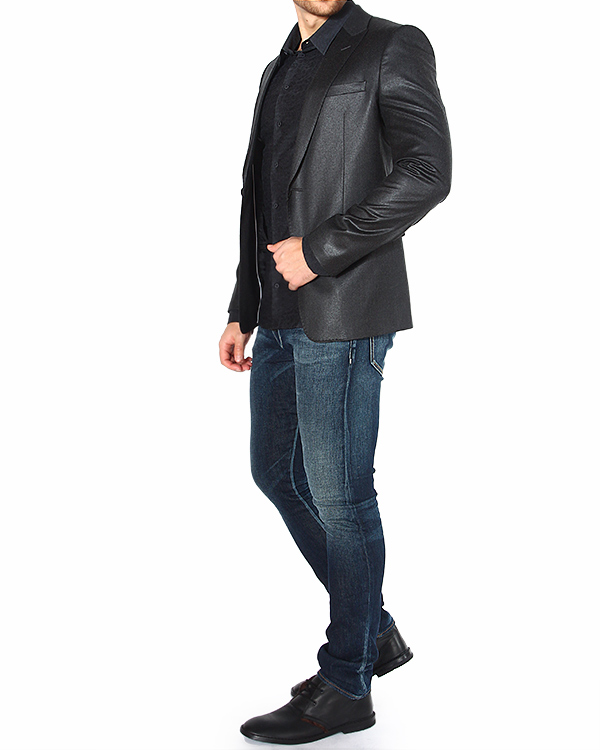 мужская рубашка EMPORIO ARMANI, сезон: зима 2014/15. Купить за 10200 руб. | Фото 3