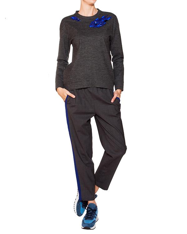 женская брюки SEMI-COUTURE, сезон: зима 2015/16. Купить за 10200 руб. | Фото 3