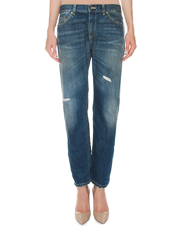 джинсы Boyfriend из плотного денима артикул P611-P66 марки DONDUP купить за 19800 руб.