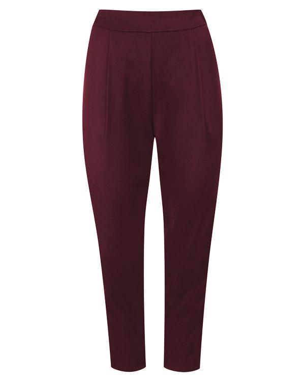 брюки укороченного силуэта из костюмной шерсти  артикул P7A205 марки Erika Cavallini купить за 20900 руб.