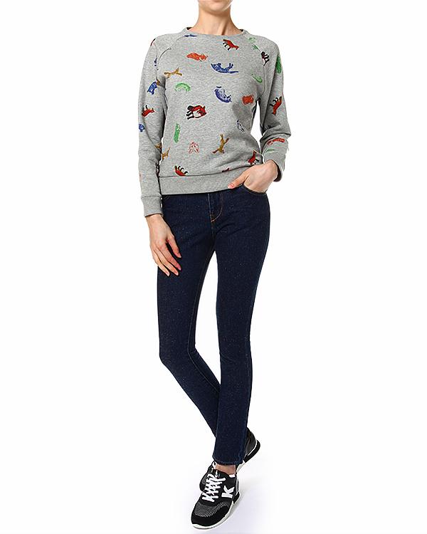 женская джинсы Maison Kitsune, сезон: лето 2014. Купить за 6900 руб. | Фото 3