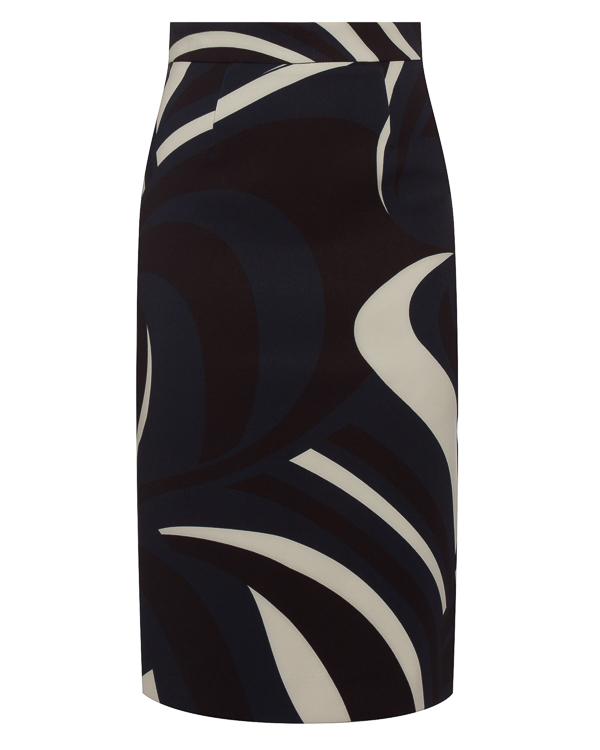 юбка миди с высокой посадкой на талии  артикул PALAU620214 марки P.A.R.O.S.H. купить за 13700 руб.