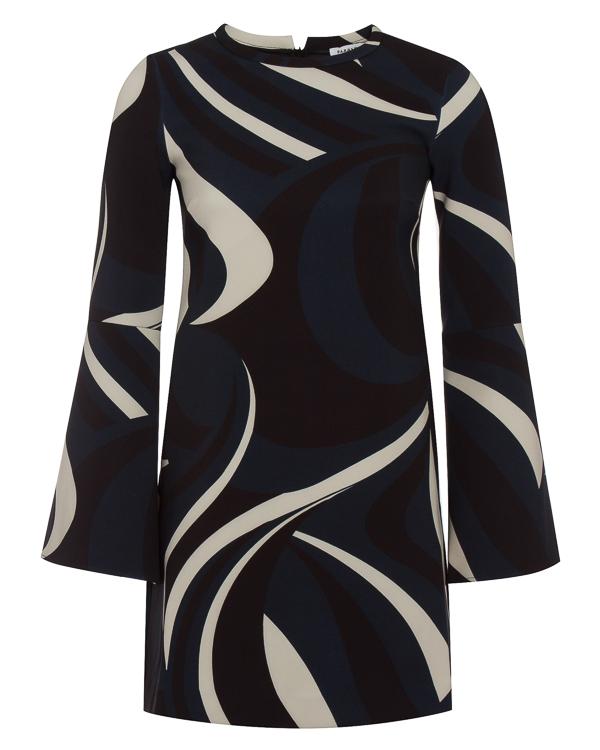 платье мини с принтом артикул PALAU730373 марки P.A.R.O.S.H. купить за 26000 руб.