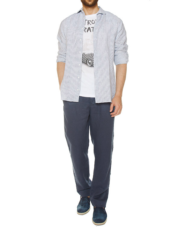 мужская рубашка MC2 Saint Barth, сезон: лето 2017. Купить за 9100 руб.   Фото $i
