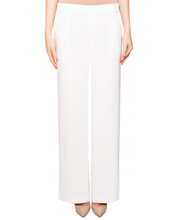 брюки прямого кроя из мягкой легкой ткани артикул PANTERA230087 марки P.A.R.O.S.H. купить за 6200 руб.